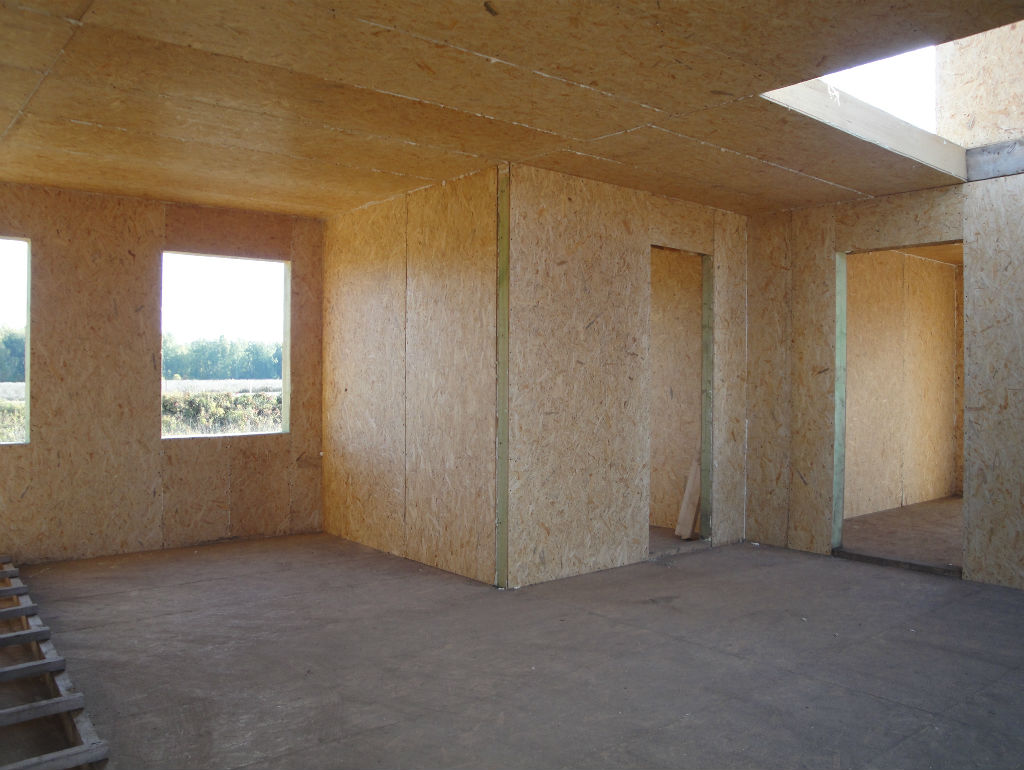 Дизайн дома из сип панелей