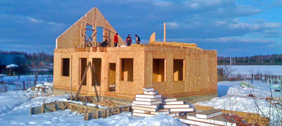 Дом из сип панелей построить